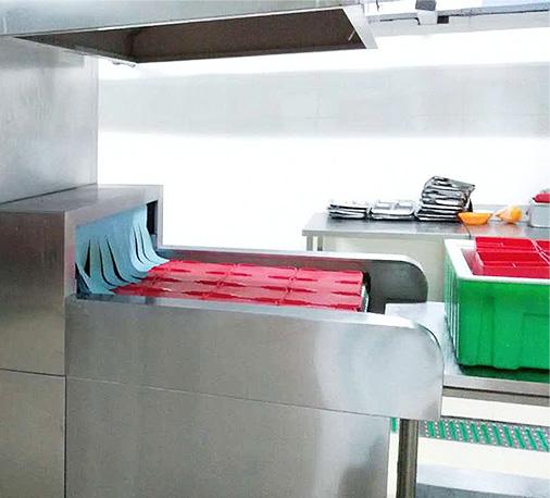 翔鹰自动洗碗机设计融合了现代科技及丰富的生产经验
