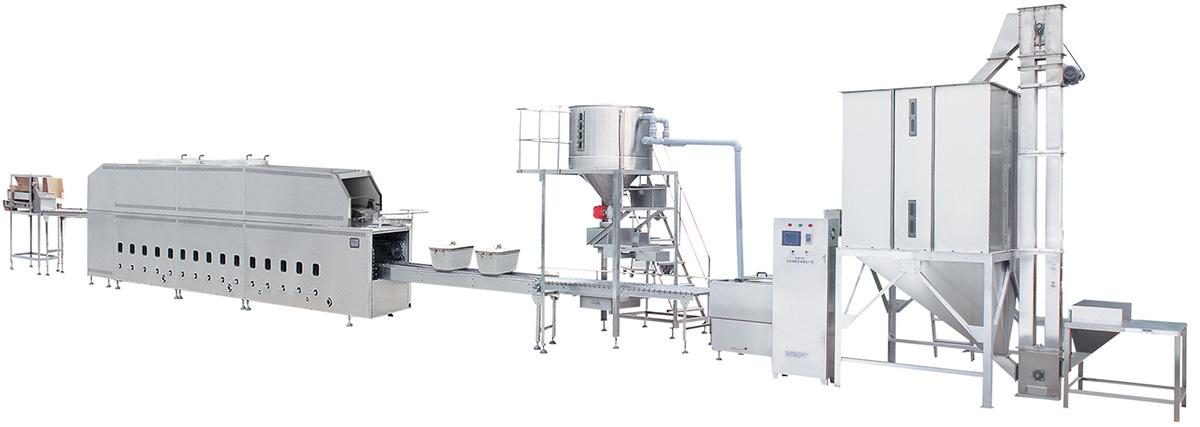 450联合自动米饭生产线
