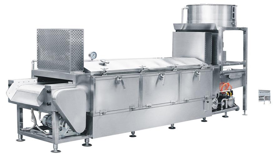 150全自动蒸汽型米饭生产线