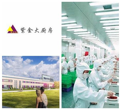 甘肃省大型中央厨房——甘肃紫金,翔鹰中央厨房设备甘肃案例