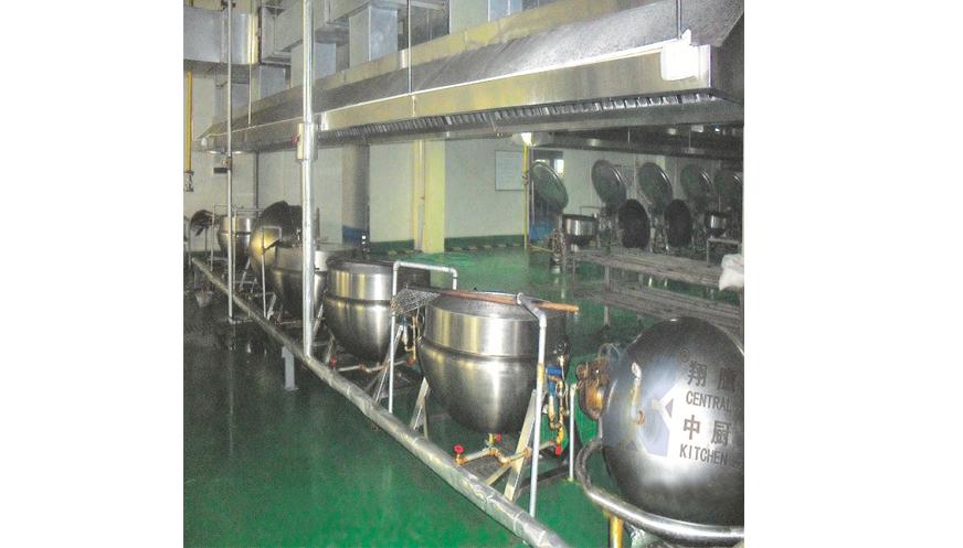 200L蒸汽夹层锅