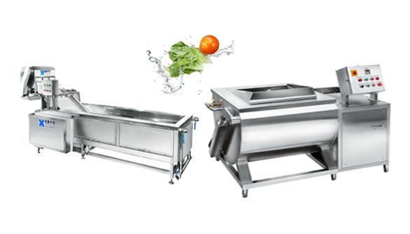 按摩式洗菜机 连续式洗菜机