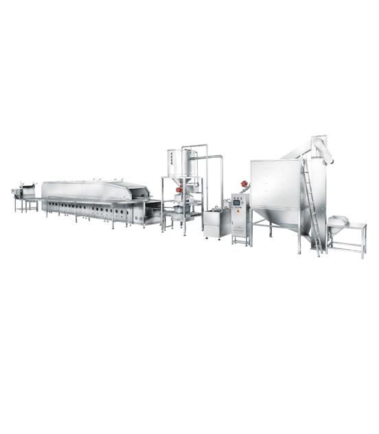 600全自动蒸汽型米饭生产线