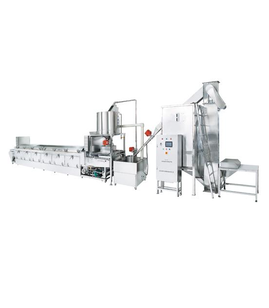 300全自动蒸汽型米饭生产线