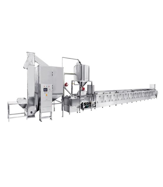 1000全自动蒸汽型米饭生产线