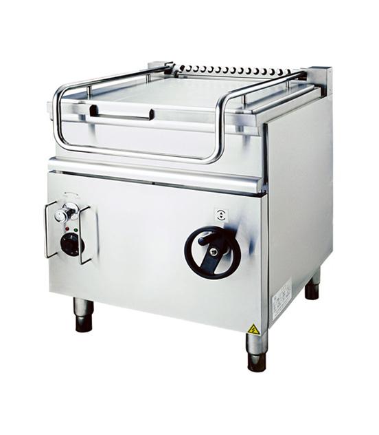 可倾式电热炒锅
