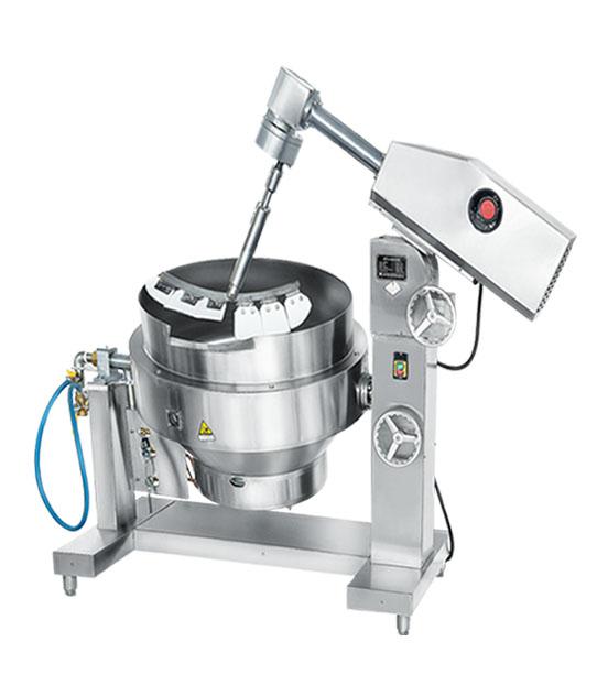 200L自动搅拌炒菜机