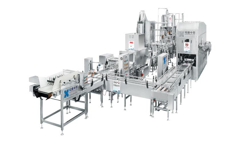 600智能型全自动米饭生产线