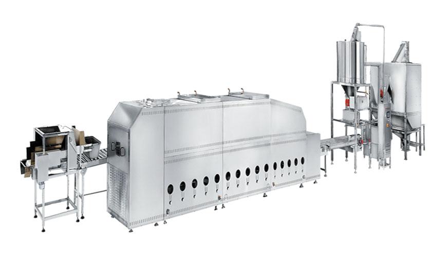 300集中浸泡式自动米饭生产线