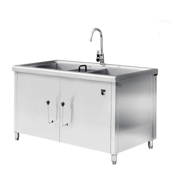 双缸水槽型洗菜机