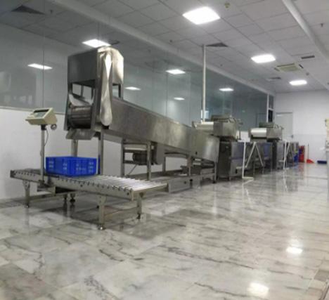 翔鹰连续式洗菜线助力妙香居泡菜产业升级